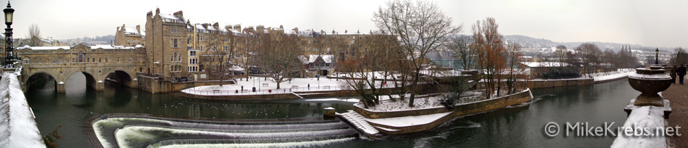 Bath River Panorama