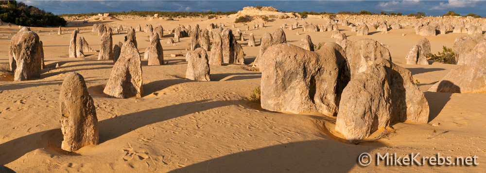 Nambung National Park Australia Panorama